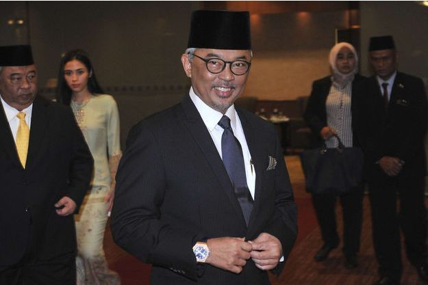 Tengku Abdullah Shah (ici le 11 janvier 2019) succède à son père comme sultan de l'Etat de Pahang en Malaisie