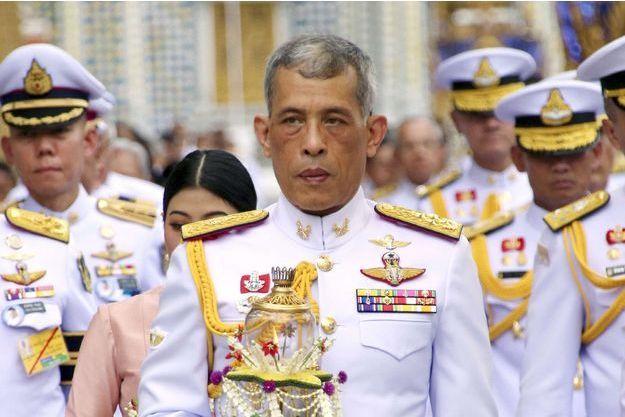 Le roi Maha Vajiralongkorn (Rama X) le 29 mai 2018