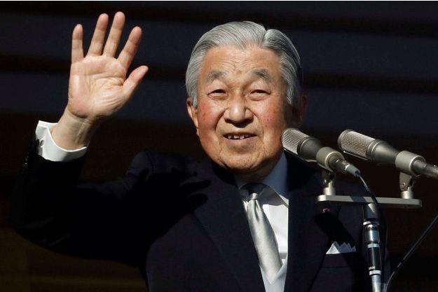 L'empereur Akihito du Japon à Tokyo, le 2 janvier 2019