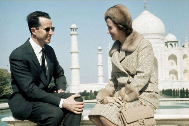Le pèlerinage de tous les amoureux: le roi Baudouin emmène la reine Fabiola au Taj Mahal, en Inde, en février 1970.