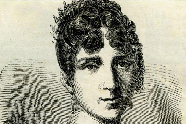 Hortense de Beauharnais, gravure du XIXème siècle