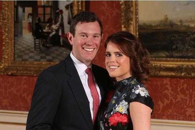 Les photos officielles des fiançailles de la princesse Eugenie avec Jack Brooksbank.