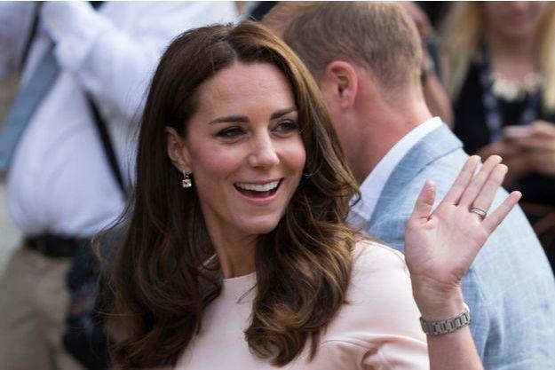 La duchesse de Cambridge, née Kate Middleton, en Cornouailles le 1er septembre 2016