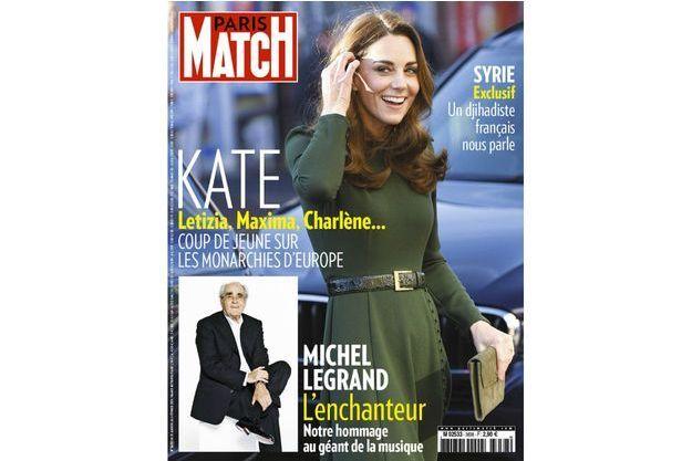 La couverture du numéro 3638 de Paris Match.