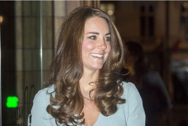Catherine, la duchesse de Cambridge, née Kate Middleton, au Muséum d'Histoire Naturelle mardi soir.