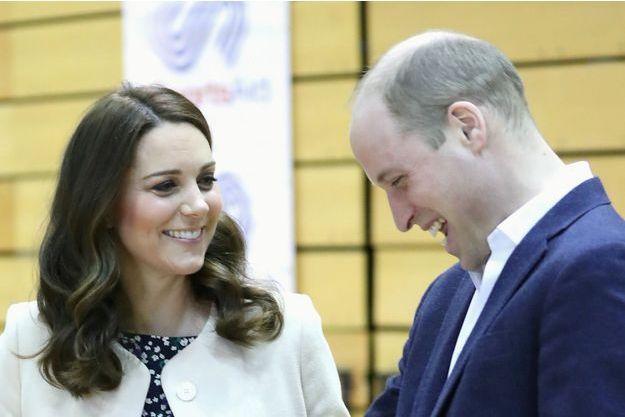 Kate Middleton enceinte et william
