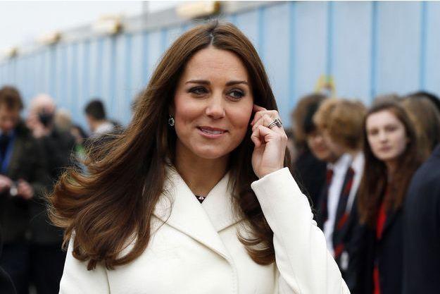 La duchesse de Cambridge, née Kate Middleton, le 12 février 2015.