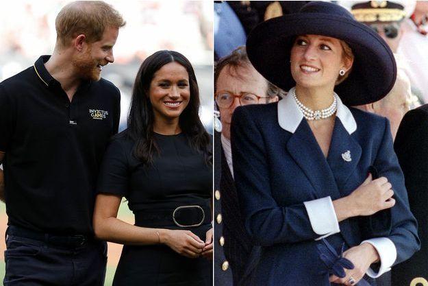 Harry et Meghan ont rendu un nouvel hommage à la princesse Diana