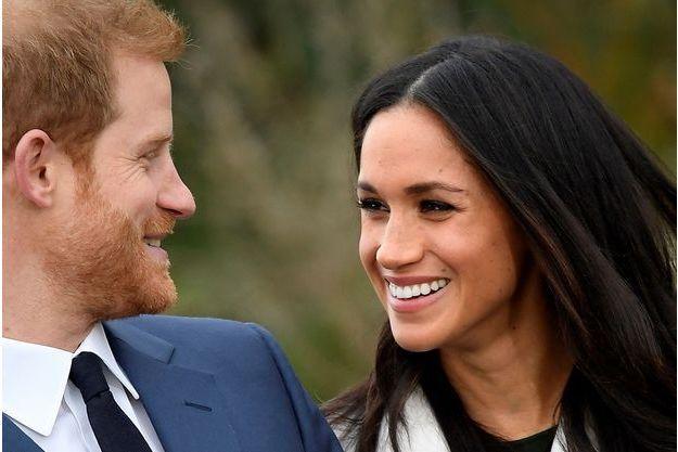 prince Harry Meghan Markle fiançailles
