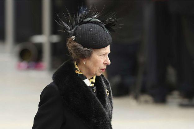 La princesse Anne, le 4 mai 2019