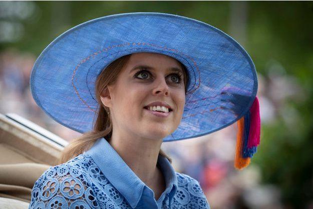 La princesse Beatrice d'York, le 18 juin 2019