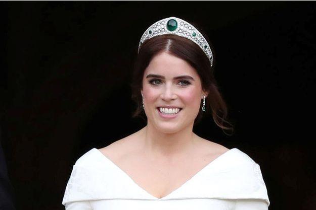 La princesse Eugenie d'York, le jour de son mariage le 12 octobre 2018