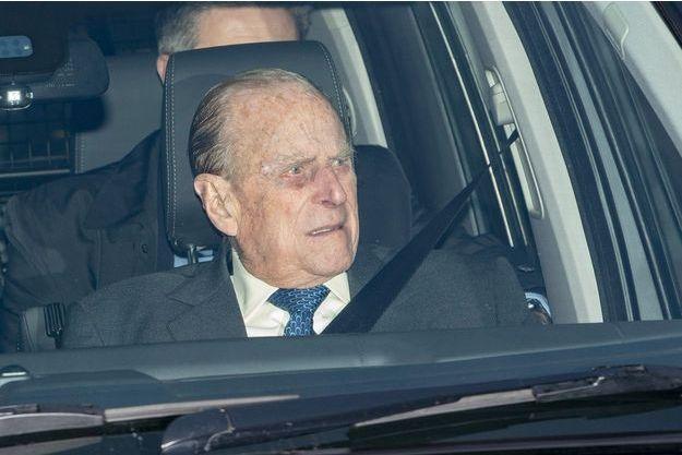 Le prince Philip à Buckingham en décembre 2018.