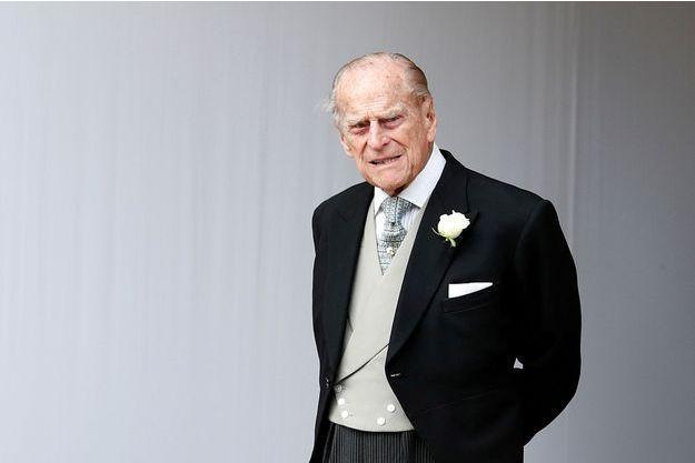 Le prince Philip à Windsor, le 12 octobre 2018