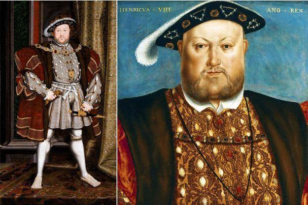 Portraits du roi Henri VIII par Hans Holbein (Walker Art Gallery, Liverpool et non localisé)