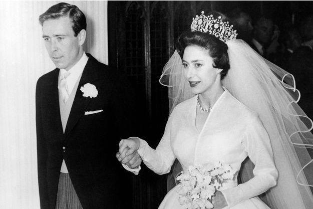 La princesse Margaret et Tony Armstrong-Jones, le 6 mai 1960