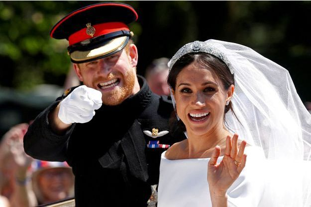Meghan et Harry partagent des photos inédites de leur mariage