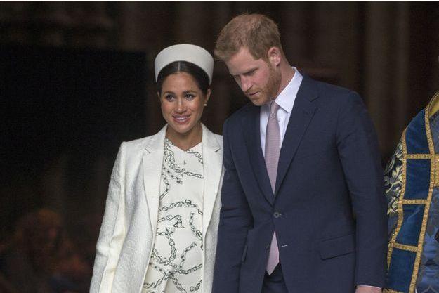 Meghan Markle et le prince Harry lors de la journée du Commonwealth, le 11 mars 2019