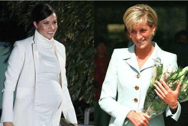 Meghan Markle et Lady Diana