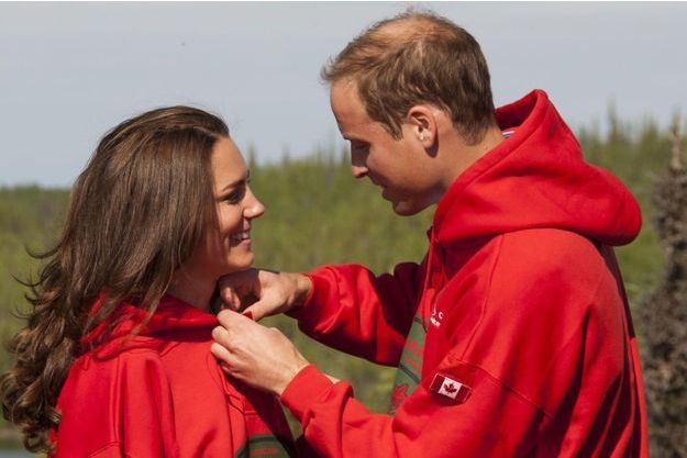 William et Kate, duc et duchesse de Cambridge, lors de leur premier voyage officiel, au Canada, en 2011.