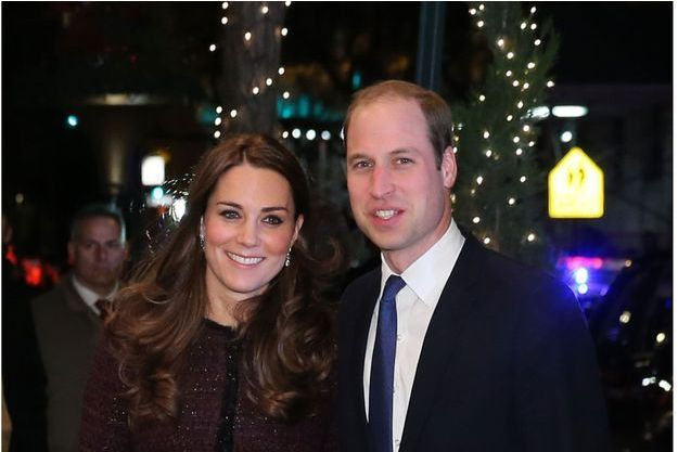Kate et William arrivent au Carlyle Hotel, à New York, le 7 décembre.