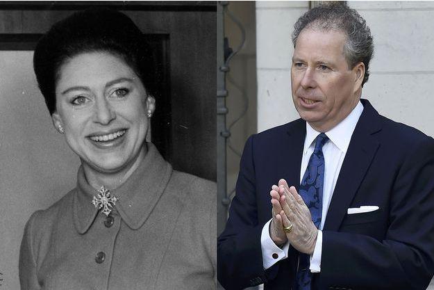 La princesse Margaret (ici en 1969) et son fils David Armstrong-Jones, compte de Snowdon