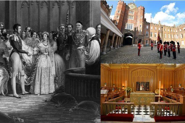 La reine Victoria et le prince Albert se sont mariés dans la chapelle du palais St James le 10 février 1840