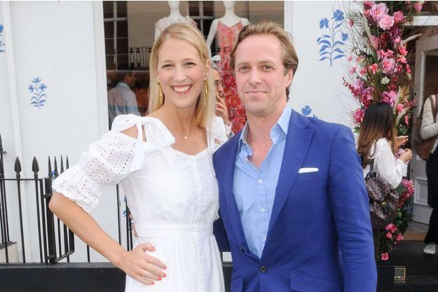 Lady Gabriella Windsor et Thomas Kingston, à Londres le 16 mai 2018