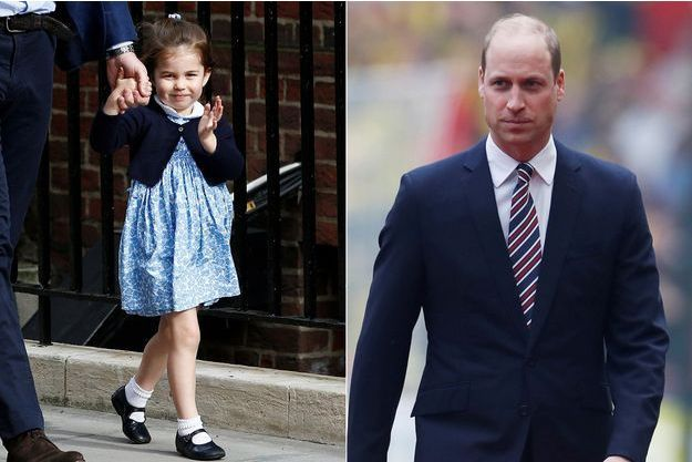 Charlotte de Cambridge et le prince William