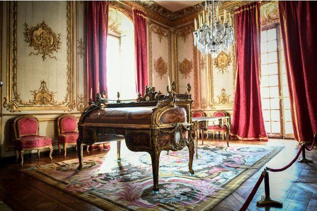 Le cabinet d'angle du Roi au château de Versailles, avant sa restauration, le 11 mars 2019