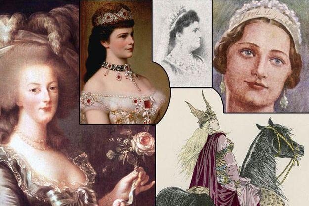 L'impératrice d'Autriche «Sissi», la reine d'Austrasie Brunehaut, la reine de France Marie-Antoinette, la reine Draga de Serbie, la reine des Belges Astrid... cinq souveraines au destin tragique