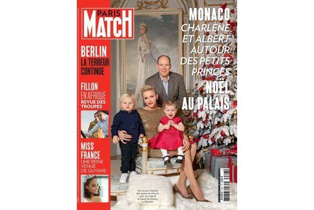 Noël à Monaco en une de Paris Match n°3527