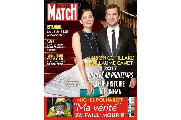 La une de Paris Match n°3529