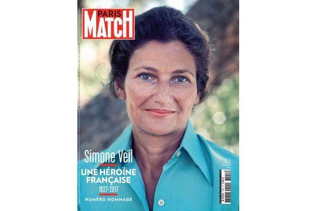 Simone Veil en une de Paris Match