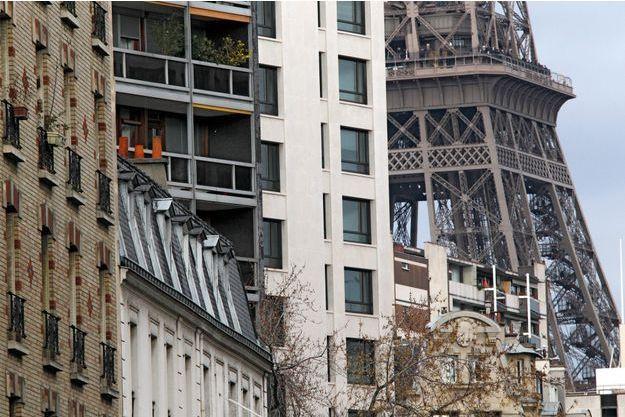 Façades de l'Ouest parisien.