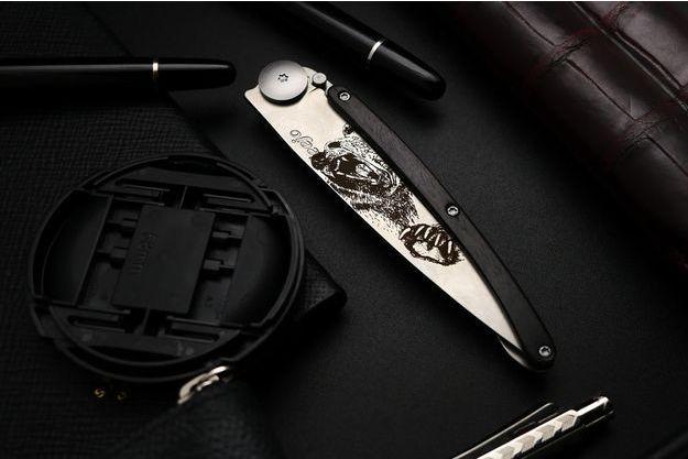 Les couteaux Deejo assemblés en France à Torcy.