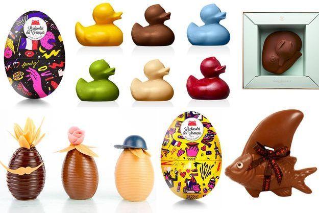 Quelques idées chocolatées pour Pâques.