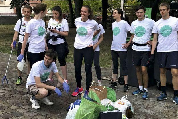 Les ramassages de déchets en ville, organisés par l'association Edeni.