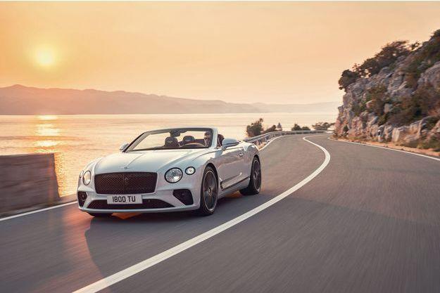 La Bentley Continental GTC