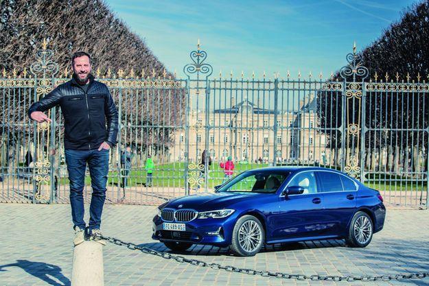 Fred Testot et la BMW 320d xDrive