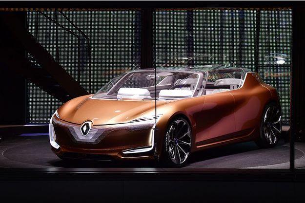 La Renault Symbioz, concept-car électrique présenté au salon de Francfort.