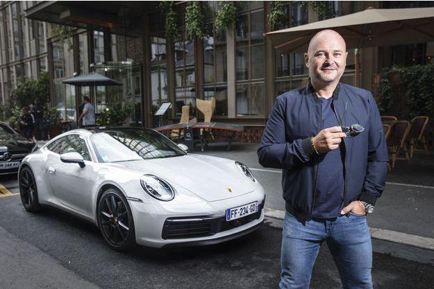 """Porsche 911 S & Sébastien Cauet : """"Hormis les montres, les hommes n'ont que les bagnoles pour se faire plaisir """""""