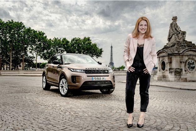 """Range Rover Evoque D240 et Émilie Dequenne : """"J'ai passé mon permis pour les besoins d'un film"""""""
