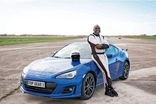 C'est au volant d'une Subaru BRZ de 200 ch que l'ex-footballeur a relevé le défi du chronomètre.