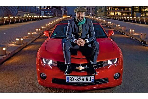 Yvan Muller a dompté la Chevrolet Camaro Cabriolet.