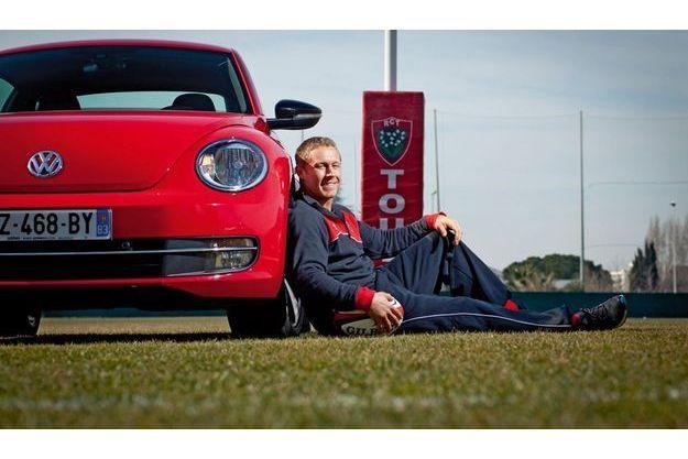 Volkswagen Coccinelle & Jonny Wilkinson