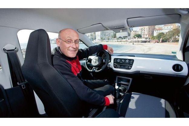 Volkswagen Up ! & Bernard Laporte