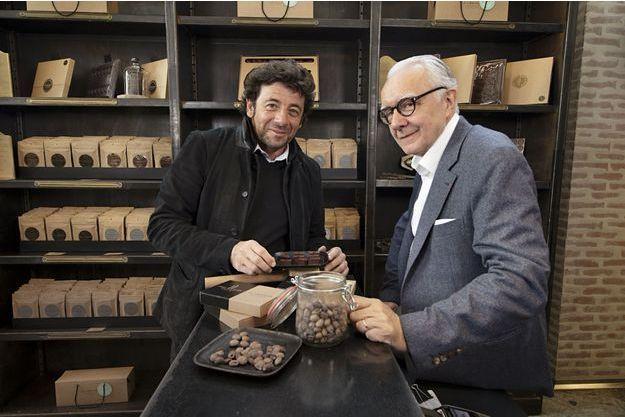 Patrick Bruel et Alain Ducasse : le goût de l'amitié