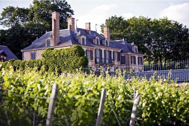 Le château de la Marquetterie, près d'Epernay.