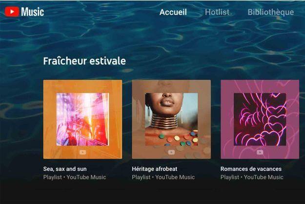 Pour le prix de 9,99 euros par mois, YouTube Music Premium propose une interface semblable à celle de ses concurrents, avec des milliers de playlists.